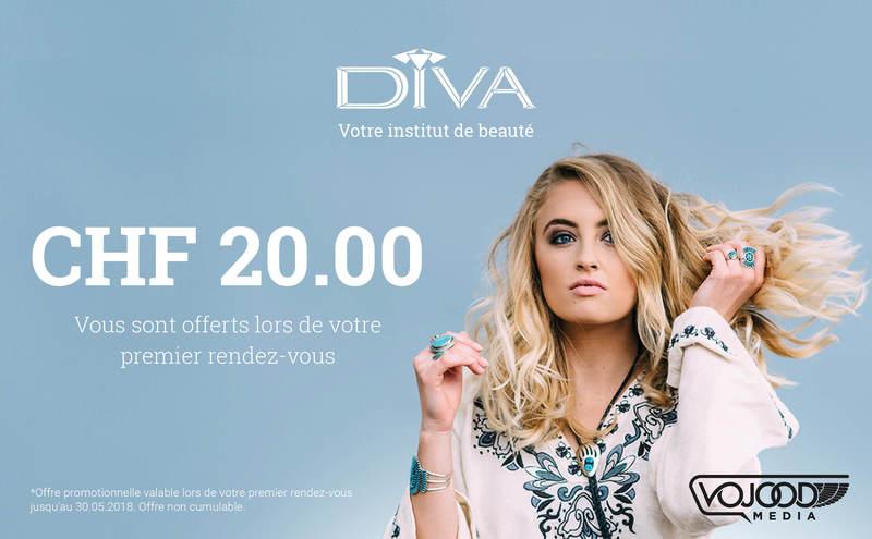 Offre promotionnelle Institut Diva