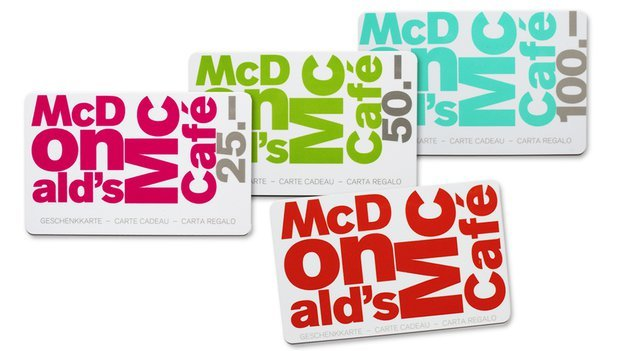 Carte Cadeau McDonald's