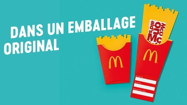 Emballage Carte Cadeau McDonald's