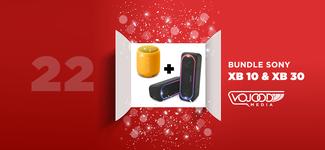 #22 Avent17 ● Bundle Enceintes Sony XB10 & XB30