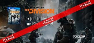"""1x jeu """"The Division"""" sur PS4 à gagner! [TERMINÉ]"""