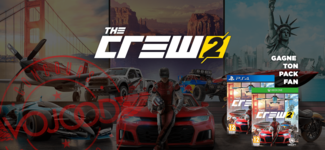 GAGNE Ton Pack Fan The Crew 2