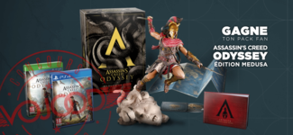 GAGNE Ton Pack Fan Assassin's Creed Odyssey Édition Medusa