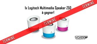 1x Logitech Multimedia Speaker Z50 à gagner [TERMINÉ]