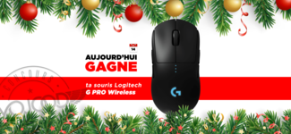 14 DEC • GAGNE ta souris Logitech G Pro Wireless • Calendrier Avent 2018