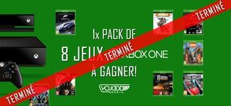 1x Pack 8 Jeux Xbox One à gagner [TERMINÉ]
