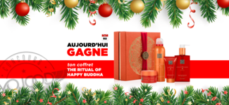 "02 DEC • GAGNE ton coffret ""The Ritual of Happy Buddha"" • Calendrier Avent 2018"