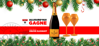 11 DEC • GAGNE ton Pack Veuve Clicquot • Calendrier Avent 2018