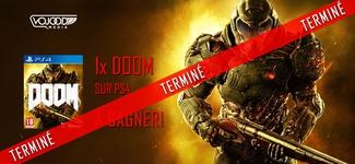 """1x jeu """"Doom"""" sur PS4 à gagner! [TERMINÉ]"""