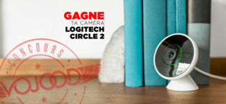 GAGNE ta caméra de sécurité Logitech Circle 2