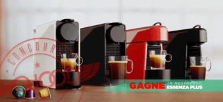 GAGNE ta machine Nespresso Essenza Plus