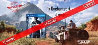"""1x jeu """"Uncharted IV"""" sur PS4 à gagner! [TERMINÉ]"""
