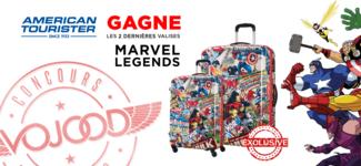 EXCLUSIF • GAGNE les 2 dernières valises American Tourister Marvel Legends