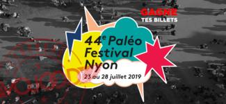 GAGNE 2 billets pour le 44e Paléo Festival Nyon