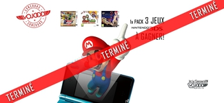 1x Pack 3 jeux 3DS à gagner [TERMINÉ]