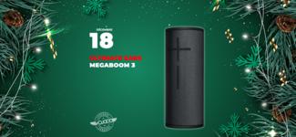 #18 • GAGNE ton enceinte Ultimate Ears MEGABOOM 3 • Calendrier de l'Avent 2019