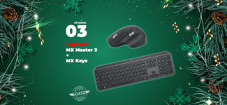#03 • GAGNE ton pack Logitech souris MX Master 3 et clavier MX Keys • Calendrier de l'Avent 2019