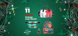 #11 • GAGNE ton pack de sacs Eastpak Andy Warhol • Calendrier de l'Avent 2019