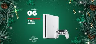 #06 • GAGNE ta PlayStation 4 Slim 500GB • Calendrier de l'Avent 2019
