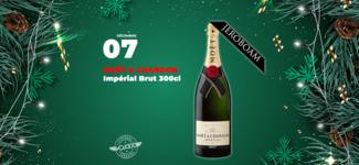 #07 • GAGNE ton Champagne Moët & Chandon Impérial Brut • Calendrier de l'Avent 2019