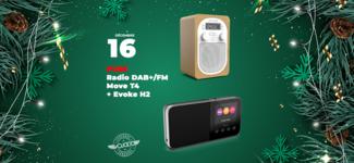 #16 • GAGNE ton pack Radio PURE Move T4 + Evoke H2 • Calendrier de l'Avent 2019