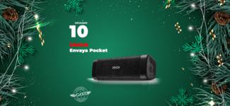 #10 • GAGNE ton enceinte Denon Envaya Pocket • Calendrier de l'Avent 2019