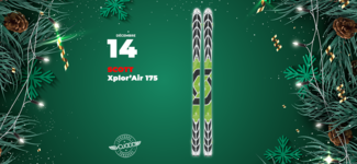 #14 • GAGNE tes skis Scott Xplor'Air 175 • Calendrier de l'Avent 2019