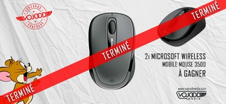 2x souris Microsoft Wireless Mobile 3500 à gagner [TD] [TERMINÉ]