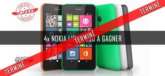 4x Nokia Lumia 530 à gagner [TD] [TERMINÉ]