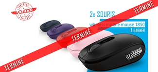 2x Souris Microsoft Wireless Mobile 1850 [TD] [TERMINÉ]