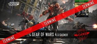 1x Gear of Wars 4 à gagner [TERMINÉ]
