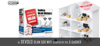 1x Devolo dLAN 500 WiFi Starter Kit CPL à gagner