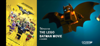 "1x Pack Fan ""Lego Batman, Le Film"" À Gagner"