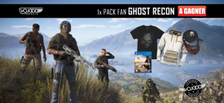1x Pack Fan Ghost Recon À Gagner