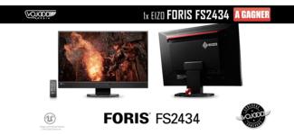 1x Eizo Foris FS2434 à gagner