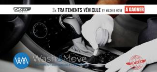 3x Traitements Véhicule Avec Wash&Move À Gagner