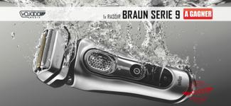 1x Rasoir Braun Serie 9 à gagner