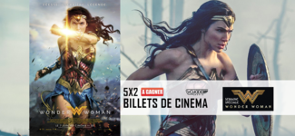 5x 2 Billets De Cinéma Pour Wonder Woman À Gagner