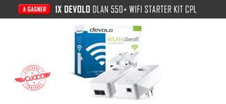 1x Devolo dLAN 550+ WiFi Starter Kit CPL
