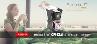 1x Machine à thé SPECIAL.T by Nestlé À Gagner