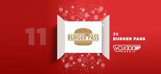 #11 Avent17 ● 3x Burgerpass