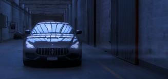 "Court métrage ""Emancipated"" avec la Maserati Quattroporte"