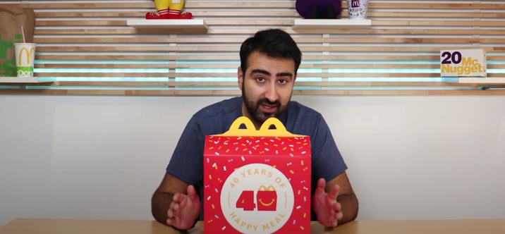 Unboxing • Coffret McDonald's pour les 40 ans du Happy Meal