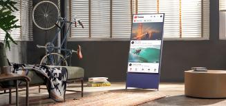 The Sero de Samsung, le tout nouveau téléviseur Lifestyle disponible en Suisse