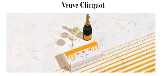 La cassette audio retro de de Veuve Clicquot vous promet un voyage très retro