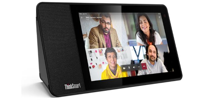 Le Lenovo ThinkSmart View rend la collaboration plus simple que jamais