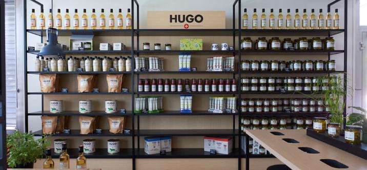 Reitzel ouvre sa toute première boutique à Aigle : le Hugo Shop