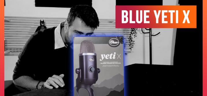Test de la Blue Yeti X et comparaison vite fait avec la Røde Wireless GO