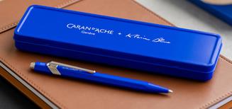 Voir la vie en bleu avec Caran d'Ache + Klein Blue®