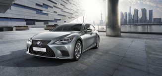 Première mondiale du nouveau Lexus LS